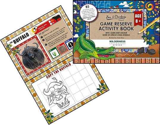 Game Reserve Activity Book (Age 8+)