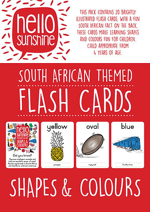Shapes & Colours Flash Cards