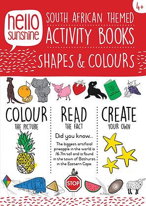 Shapes & Colours Activity Book