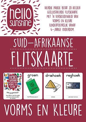 Vorms & Kleure - Flash Cards