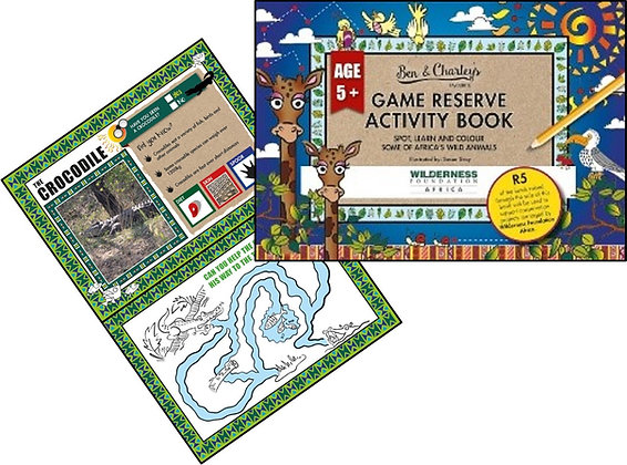 Game Reserve Activity Book (Age 5+)
