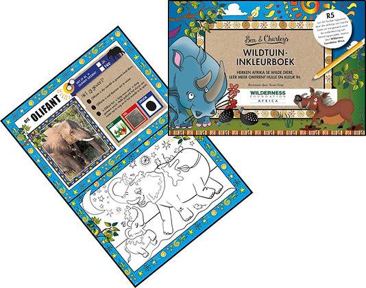 Wildtuin Inkleurboek
