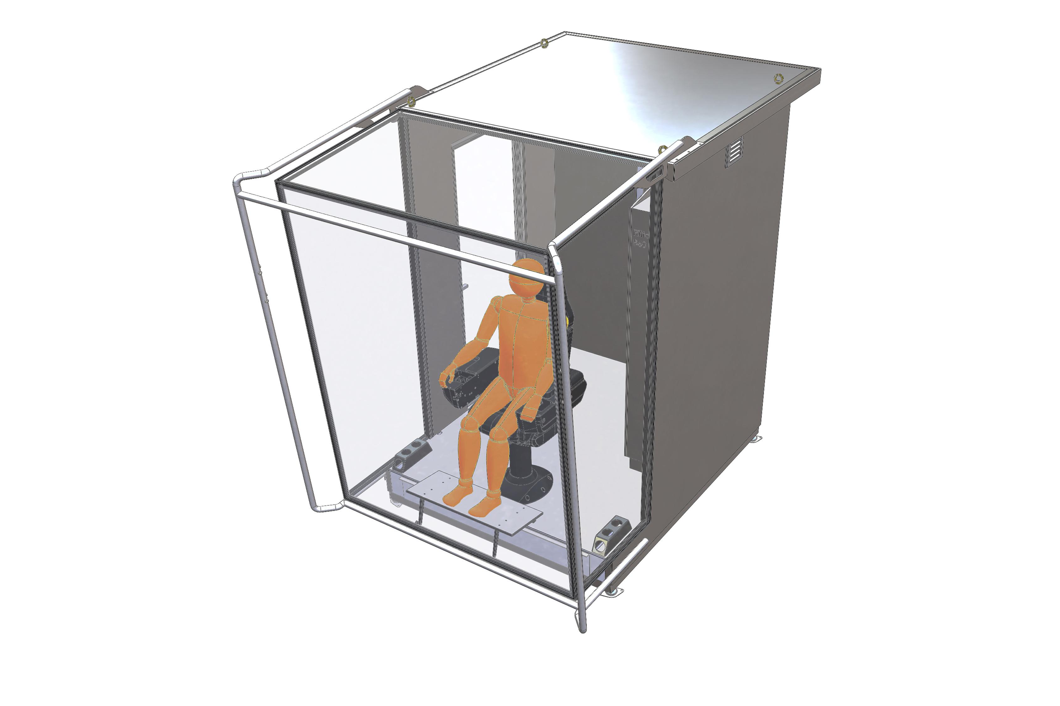 AluCabin-X3 Crane Small_perspektiv