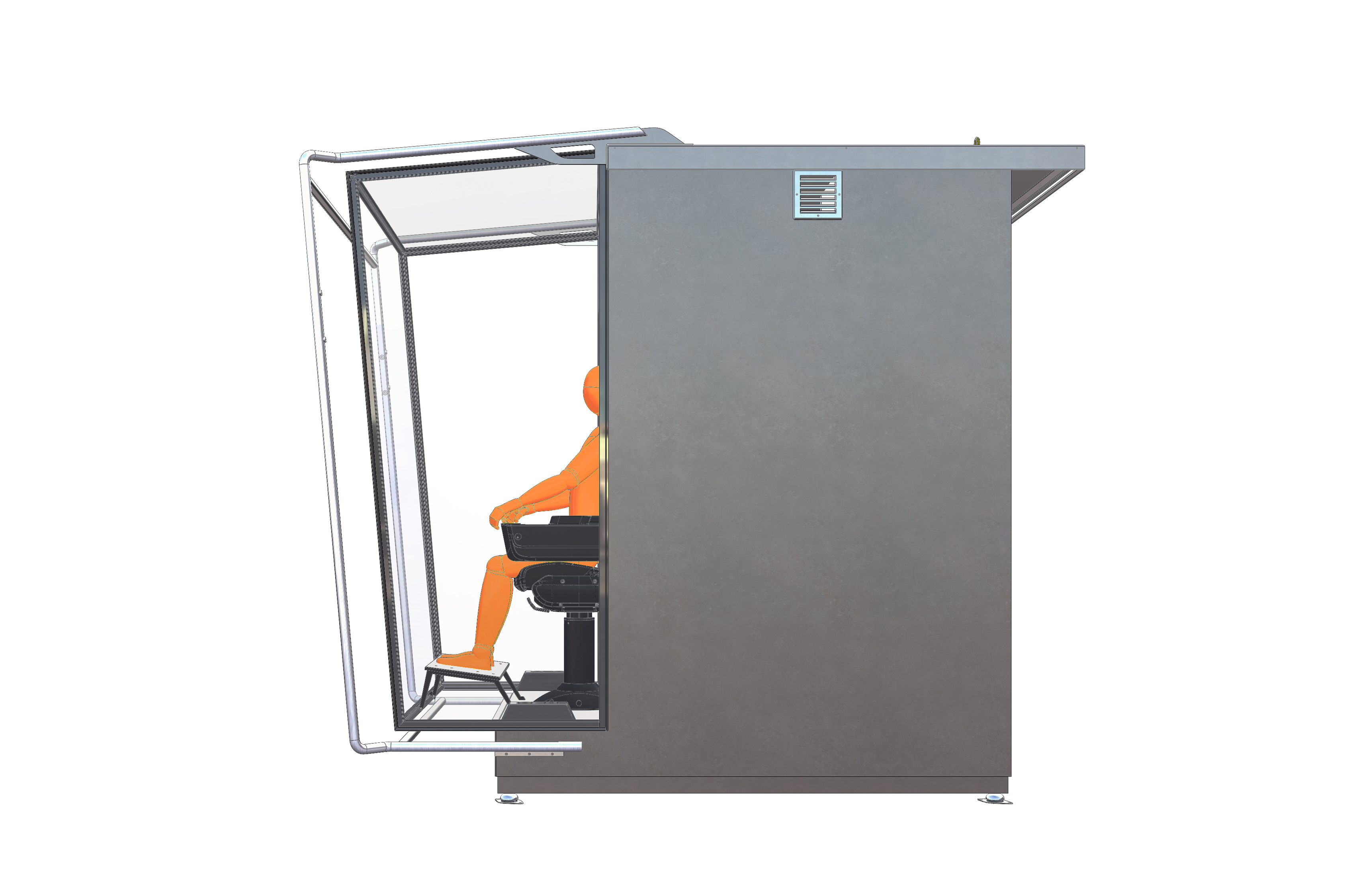 AluCabin-X3 Crane Small_sideviwe