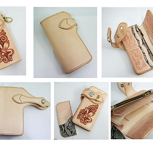 leather item (carving)