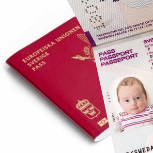 Barnpass & Visum