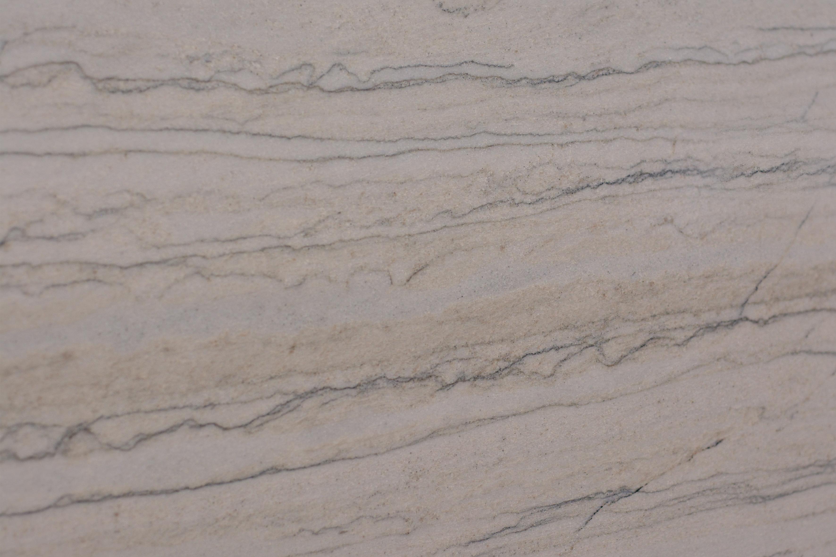 White Macauba 3CM Quartzite