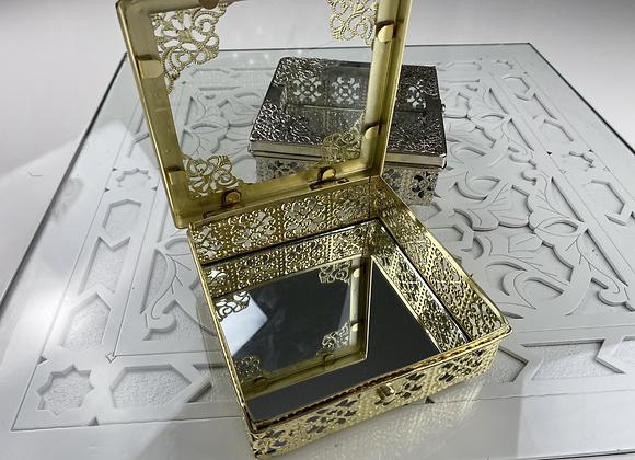 Boîte à gâteaux métal