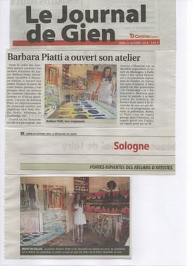 2014  Portes Ouvertes des Ateliers d'Artistes du Loiret