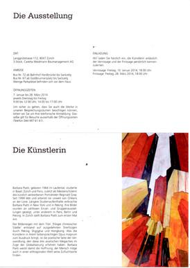 2014 Expo chez Caretta & Weidmann Zürich