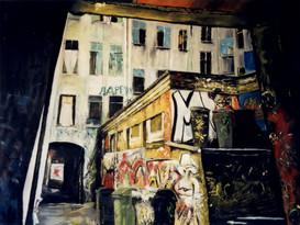 """""""Brunnenstrasse 6"""" II triptyque"""