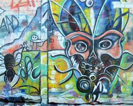 """Pas beau-  pas bien"" Street Art San Christobal de las casas"""