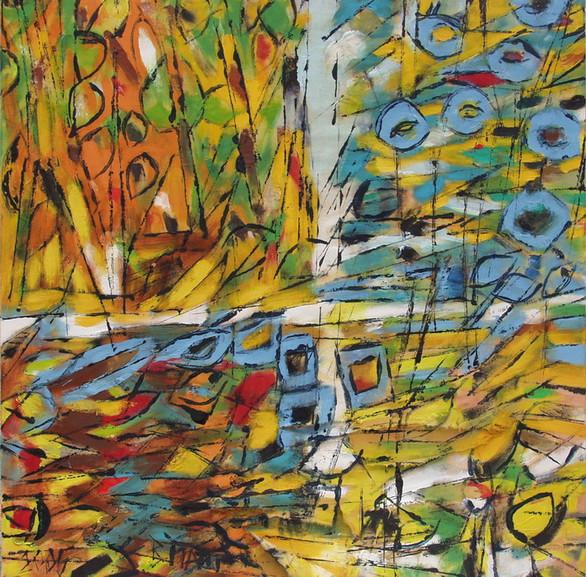 """""""Grenouilles à la fenêtre""""2005"""