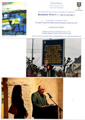 """2012 Expo """"Au fil de l'Eau""""à l'Eglise St Germain"""