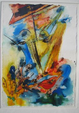"""W.W. Wind Woman"" 1995"