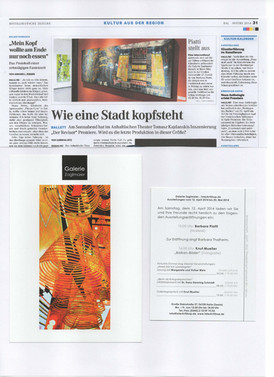2014 Galerie Zaglmaier Halle, D
