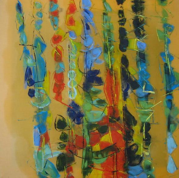"""Yellow Jazz, thème A"" 2007"