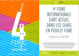 2016 4e FIAAC en Pouilly Fumé