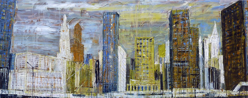 Ground Zero, 60 x 150 cm, New York 2005.