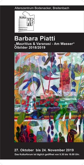 "2019 ""Varanasi -Île Maurice, Am Wasser"" 2019/18"