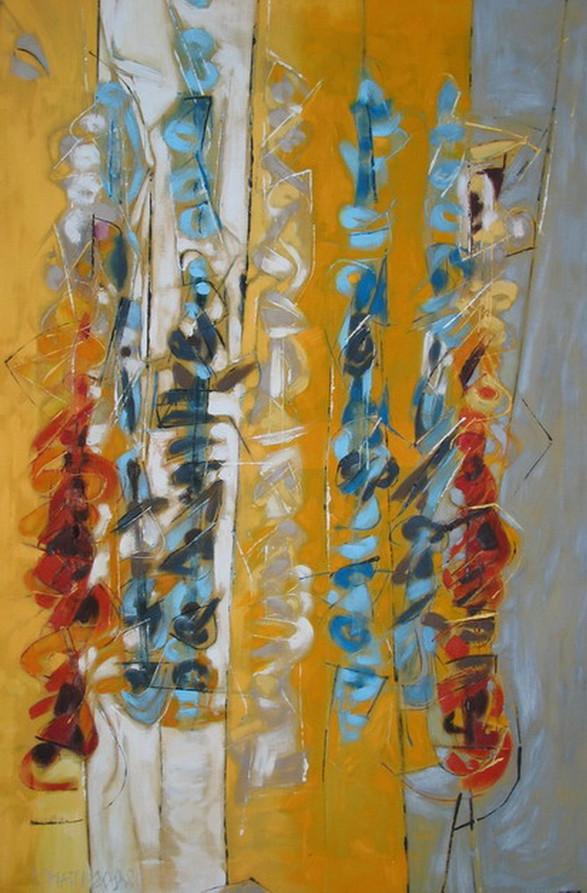 """Seven clarinets"" 2008"