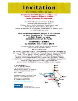 Invitation pour le Salon Européen