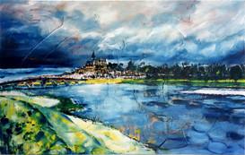 """""""Pont de Gien"""" 1999"""