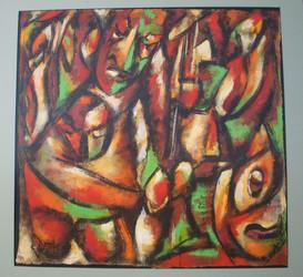 """""""Procession"""" 1991"""