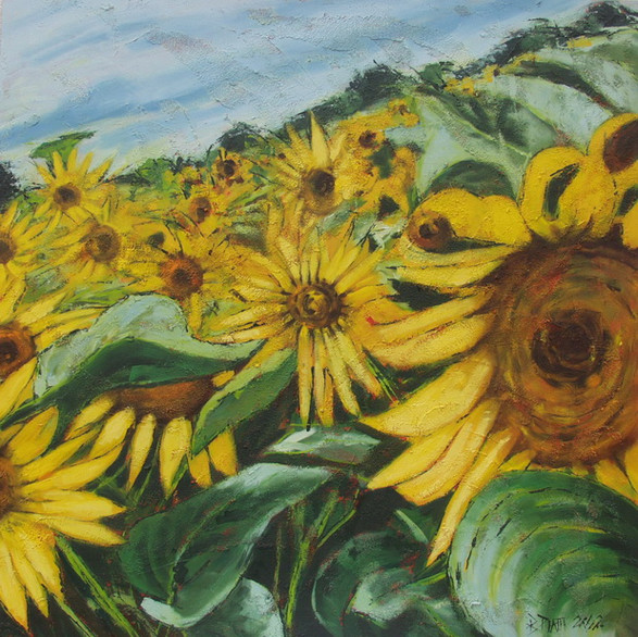 """Sunflower army"" 2002"