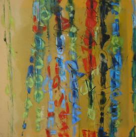 """Yellow Jazz, thème B"" 2007"