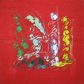 """""""Goût de Rouge I"""" triptyque 2009"""
