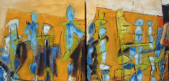 """Fourmis rouge"" diptyque 2009"