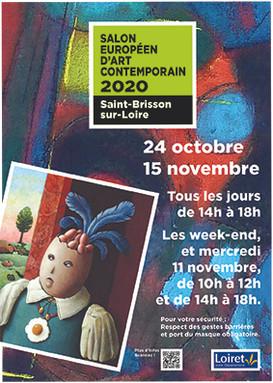 Salon Européen d'Art Contemporain Saint Brisson sur Loire