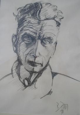 """""""Samuel Beckett"""" 1990"""
