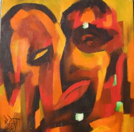 """""""Le portrait de B.Hyde"""" 1994"""