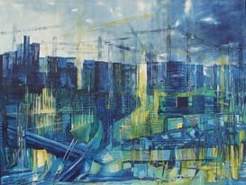 """""""Mur bleu"""""""