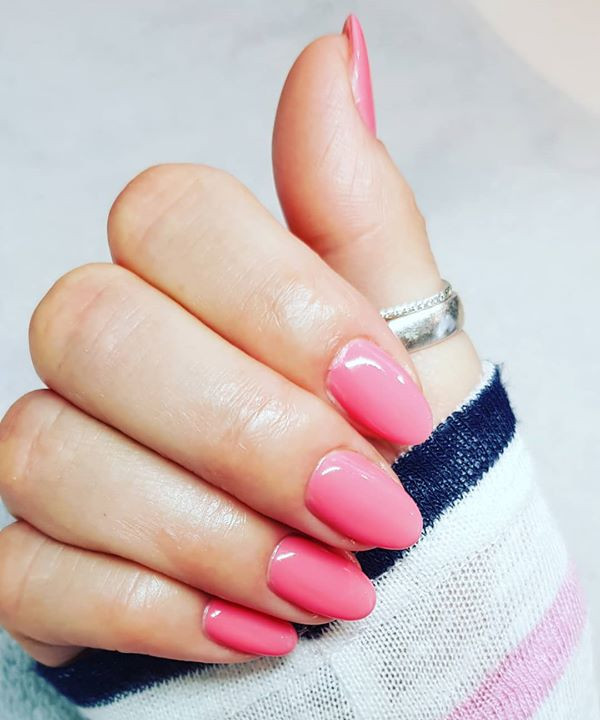 #nails #pinknails #pink #frühlingsFarbe