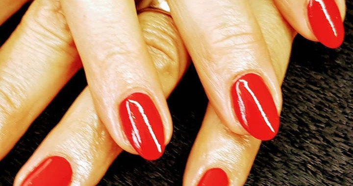 #nails #rednails #classisch #rot #meinWe