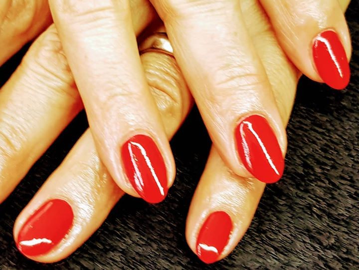 #nails #rednails #classisch #rot #meinWe