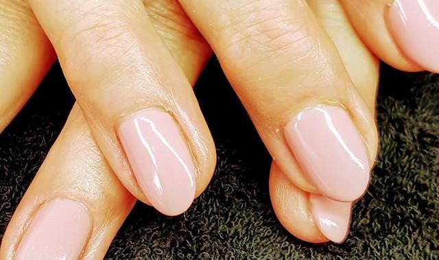 #nails #rosanägel #rosa #dezent #meinWer