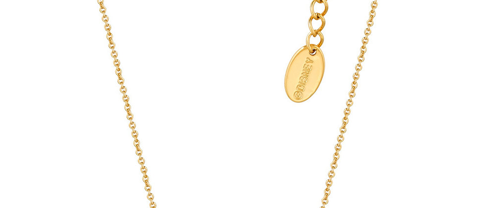 14ct gold plated Disney Cinderella Princess Necklace