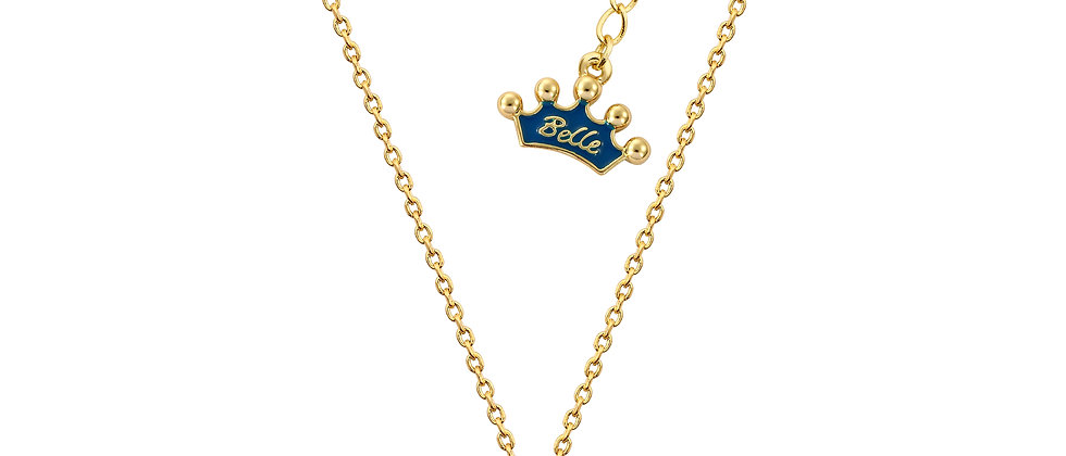 14ct Gold Plated DisneyBeauty and the Beast Mrs. Potts Necklace