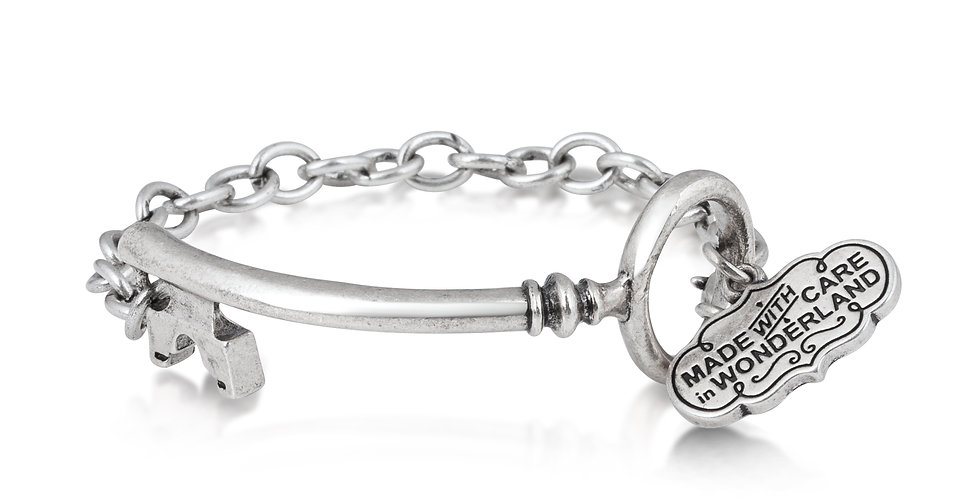 Disney Alice in Wonderland Key Bracelet
