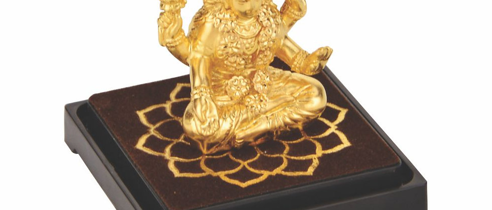 Small Gold Foil Idol Laxmi