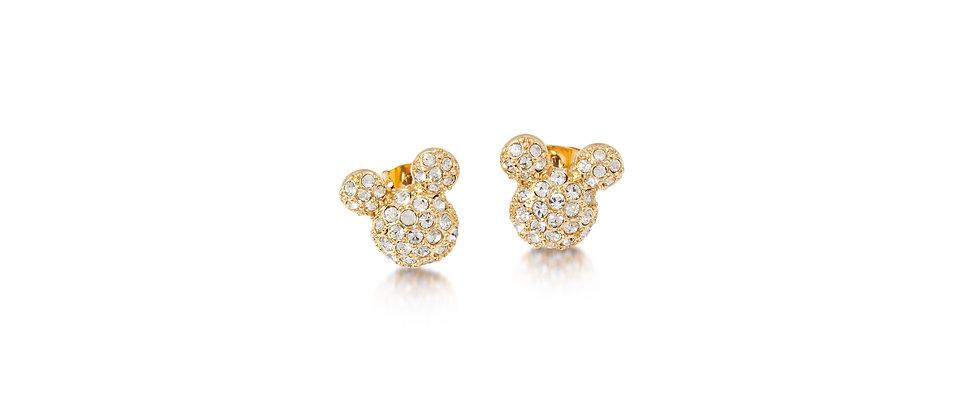 Disney Mickey Mouse Crystal Stud Earrings