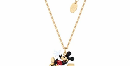 Disney Mickey Mouse M Necklace