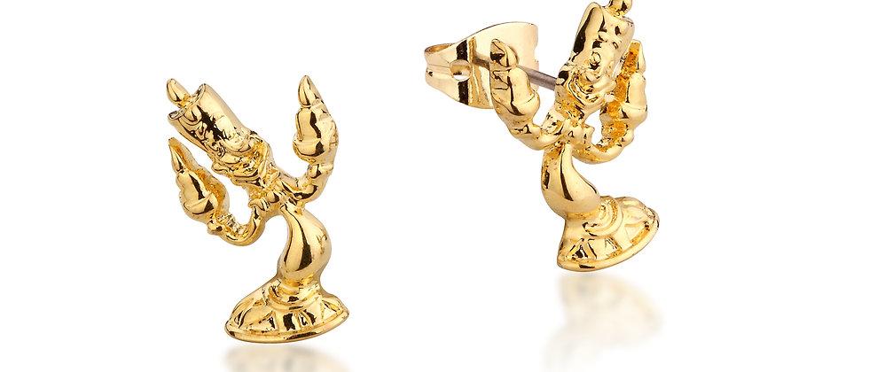 Disney Beauty and the Beast Lumiere Stud Earrings