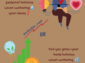 Personal Balance or Bank Balance?!
