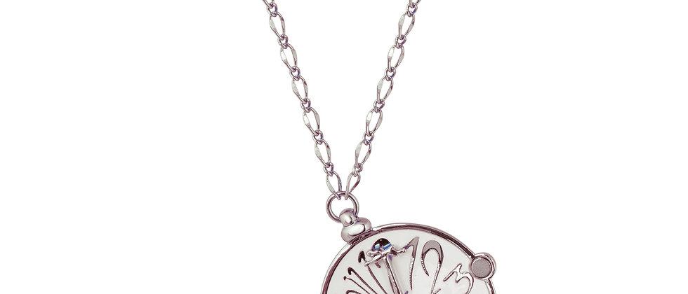 Disney Alice In Wonderland Clock Necklace