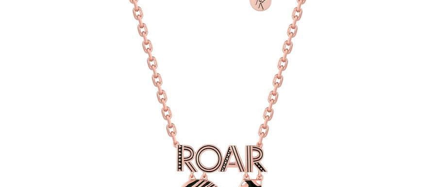14ct rose gold plated Disney The lion king Roar 94 necklace